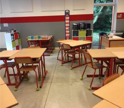 Une classe de primaire de Nil Saint Vincent