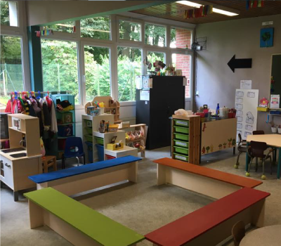 Local pour des enfants de maternelle à l'école Le Bon Départ